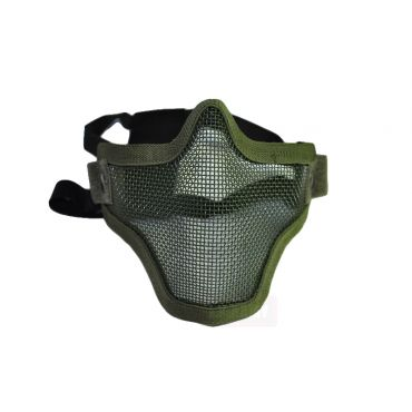 CM01 Strike Steel Half Face Mask Dual Belt Ver. ( OD )