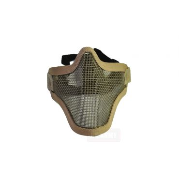 CM01 Strike Steel Half Face Mask Dual Belt Ver. ( Tan )