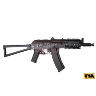 CYMA AKS-74UN RAS Assault Metal Rifle Airsoft AEG ( Black )