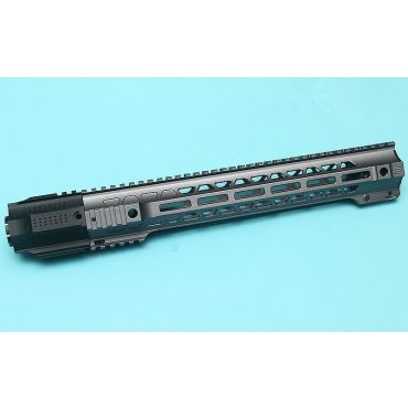G&P Long Railed Handguard with SAI QD System ( Gray )