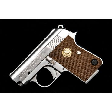 Cybergun COLT Junior .25 ACP Full Marking GBB Airsoft Pistol Mini Gun ( Silver ) ( AW / WE )