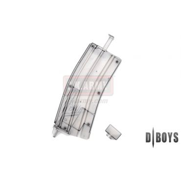 D-Boys Airsoft M4 Magazine Shaped 470 Rounds BB Speed Loader