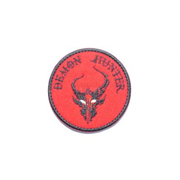Hunter Patch ( Red x Black ) ( Free Shipping )