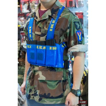 MF 1KEA Blue Style M4 Chest Rig ( IKEA Style )