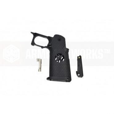 Armorer Works A00002 5.1 Grip Kit for TM/WE/AW Hi-Capa GBBP ( Black )