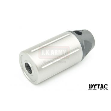 DYTAC Mini Tracer ( w/ Built-in Acetech Lighter S Installed ) ( Silver x Black ) ( 14mm CCW )