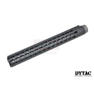 "DYTAC 13"" BRAVO Rail for PTW Profile in Black ( 1 1/4inch / 18 ) ( Keymod )"