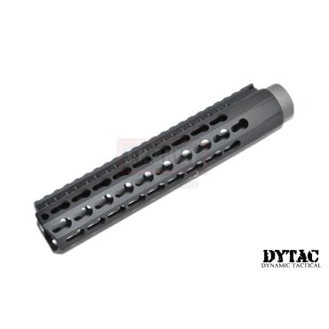 "DYTAC 9"" BRAVO Rail for PTW Profile in Black ( 1 1/4inch / 18 ) ( Keymod )"