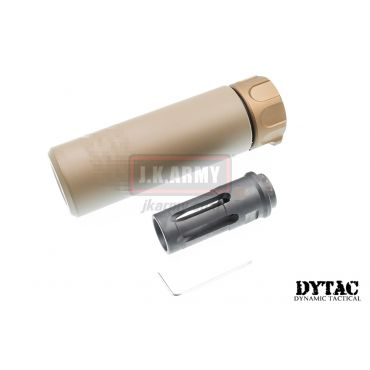 DYTAC SOCOM Mini 1 Silencer w/ SFCT-556 Flash Hider (Dark Earth)