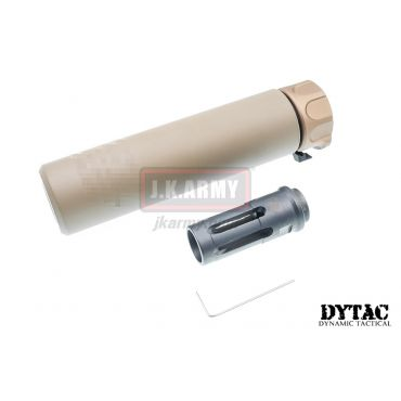 DYTAC SOCOM RC 1 Silencer w/ SFCT-556 Flash Hider (Dark Earth)