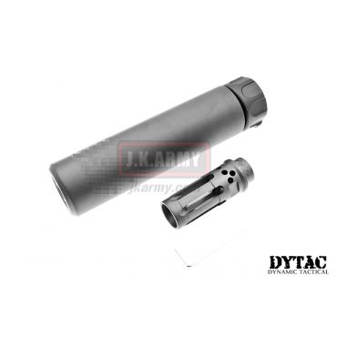 DYTAC SOCOM RC 1 Silencer w/ WARCOMP-556 Flash Hider (Black)