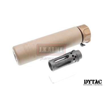 DYTAC SOCOM RC 1 Silencer w/ WARCOMP-556 Flash Hider (Dark Earth)