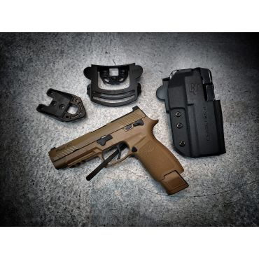 Comp-Tac International™ Holster Belt, Paddle, Drop Offset Holster for SIG M17 P320