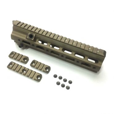 Eagle Eye G Style SMR Handguard Rail 10.5inch ( PTW Spec Barrel Nut ) ( Desert Dirt Color )