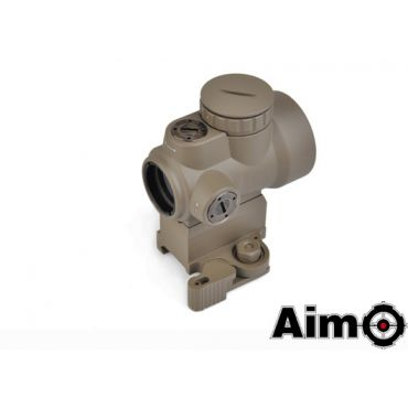 AIM MRO Style Red Dot Sight with High Mount ( DE )