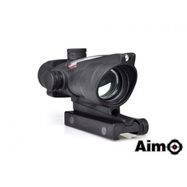 AIM ACO 1X32C Red Dot with Illumination Source Fiber ( BK )
