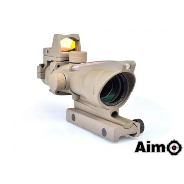 AIM ACO 4X32C Red Dot Illumination Source Fiber With RMR Sight ( DE )