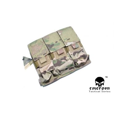 EMERSON M4 Triple Magazine Pouch ( Multicam )