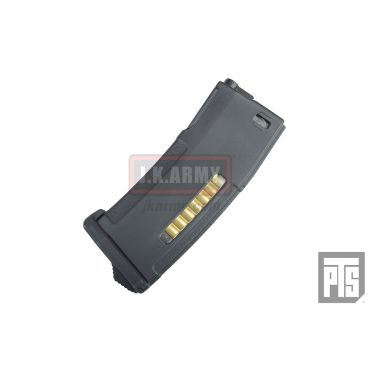 PTS Enhanced Polymer 150rds Magazine - BK