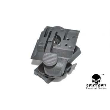 EMERSON HL1-A Helmet Light Mount / FAST Helmet Rail Mount ( BK )