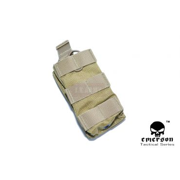 EMERSON Modular Open Top Single MAG Pouch ( Khaki )