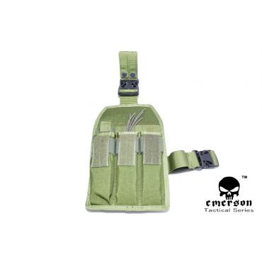 EMERSON MP7 Triple MAG Drop Leg Pouch ( OD )