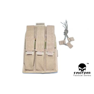 EMERSON MP7 Triple MAG Drop Leg Pouch ( CB )
