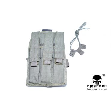 EMERSON MP7 Triple MAG Drop Leg Pouch ( FG )