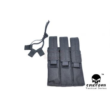 EMERSON MP7 Triple MAG MOLLE Pouch ( Black )