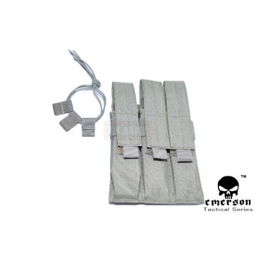EMERSON MP7 Triple MAG MOLLE Pouch ( FG )
