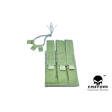EMERSON MP7 Triple MAG MOLLE Pouch ( OD )