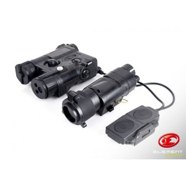 Element Advanced Illuminator Combo ( Black ) ( PEQ-16 & M3X & Double Remote )