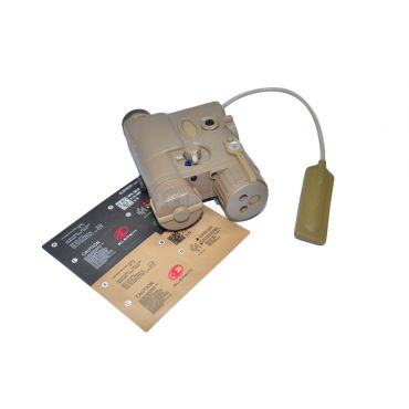 Element AN/PEQ-16A Integrated Pointer/Illuminator Module(IPIM) Laser Device (Tan)