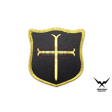 FFI - Crusader Cross Patch ( Gold x BK )
