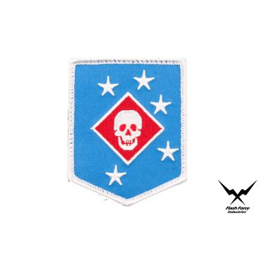 FFI - MARINE RAIDERS Blue x White Type Patch