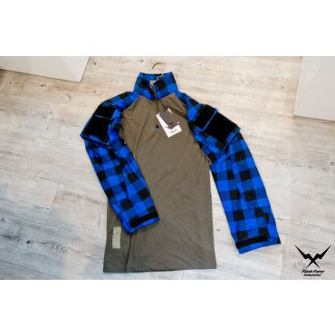 FFI GEN3 TAC Lumberjacks Shirt ( Flannel ) ( Blue )