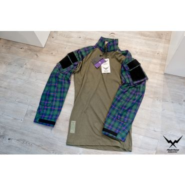 FFI GEN3 TAC Lumberjacks Shirt ( Flannel ) ( Green )