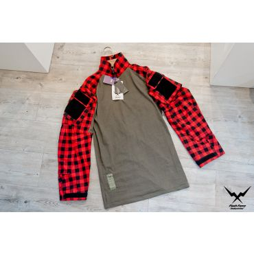 FFI GEN3 TAC Lumberjacks Shirt ( Flannel ) ( Red )