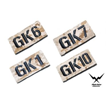 FFI GK CALL SIGN PATCH ( 1-10 ) ( AOR1 ) ( Free Shipping )