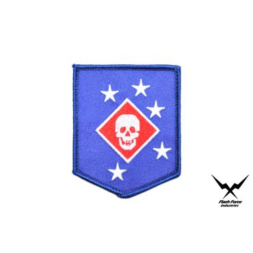 FFI - MARINE RAIDERS Patch ( Blue ) ( MARSOC ) ( Free Shipping )