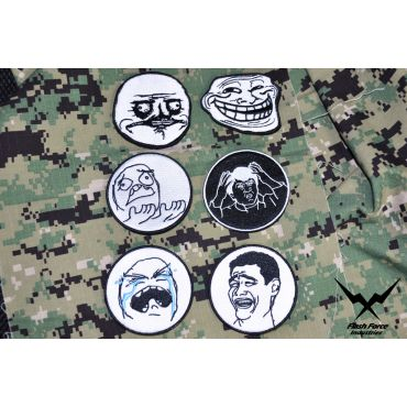 FFI Meme Patch ( 6 Patches Package ) ( Free Shipping )