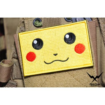 FFI - Pikachu Style Face Patch ( Free Shipping )