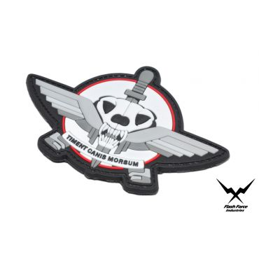 FFI Soft PVC Patch - Timent Canis Morsum ( White ) ( Free Shipping )