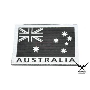 FFI PVC Reflective Patch - Australia Flag ( Black ) ( Free Shipping )