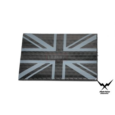 FFI PVC Reflective Patch - UK Flag ( Black ) ( Free Shipping )