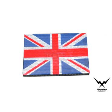 FFI PVC Reflective Patch - UK Flag ( Full Color ) ( Free Shipping )