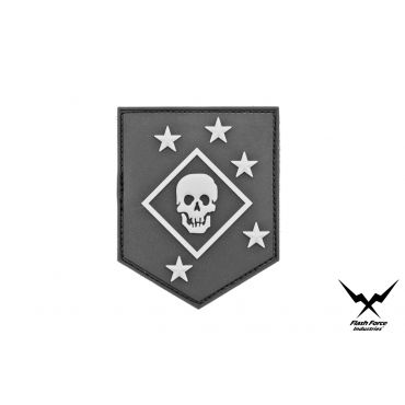 FFI Soft PVC Patch - MARSOC RAIDERS Black Style