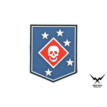 FFI Soft PVC Patch - MARSOC RAIDERS Blue Style