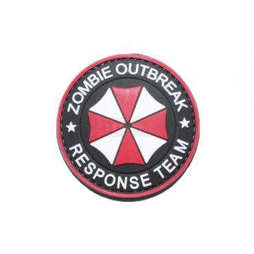 FFI Soft PVC Patch - Zombie Outbreak Response Team ( Free Shipping )