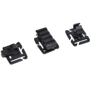 FMA 3 Type For 25mm MOLLE Webbing ( Black )